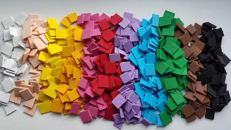 Разноцветные квадратики