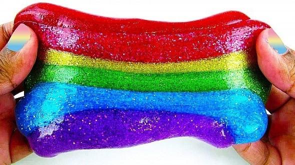 Разноцветный лизун