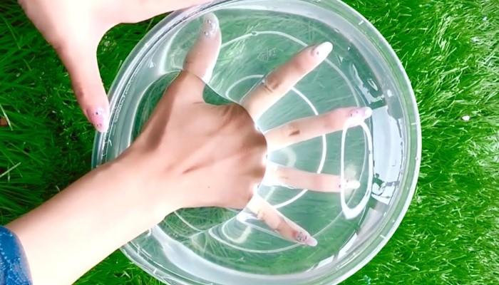 Клиар слайм из желатина