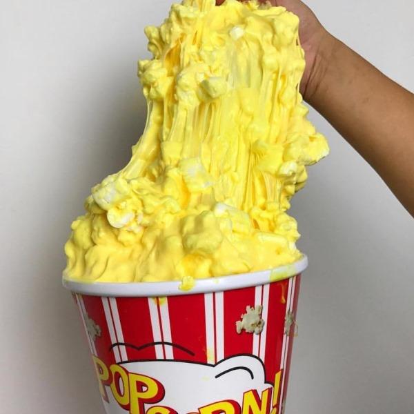 Попкорн слайм